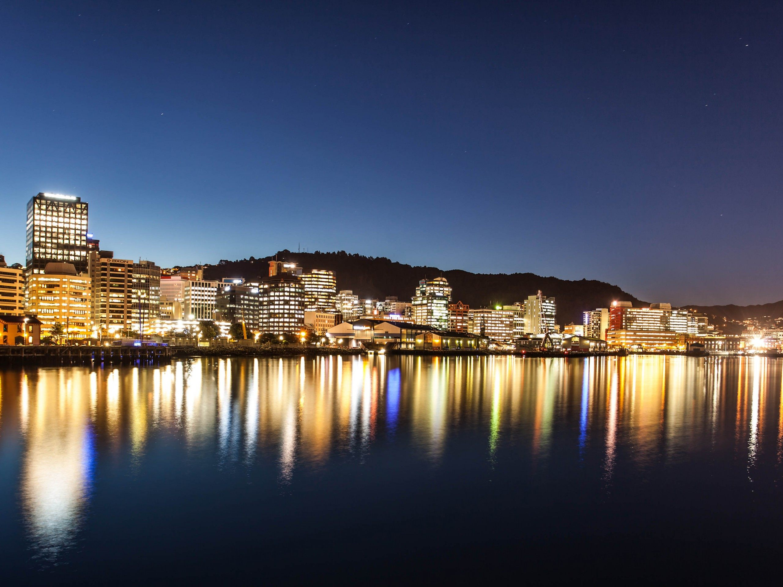 New Zealand City Lif HD Wallpaper Background Images 2560x1920