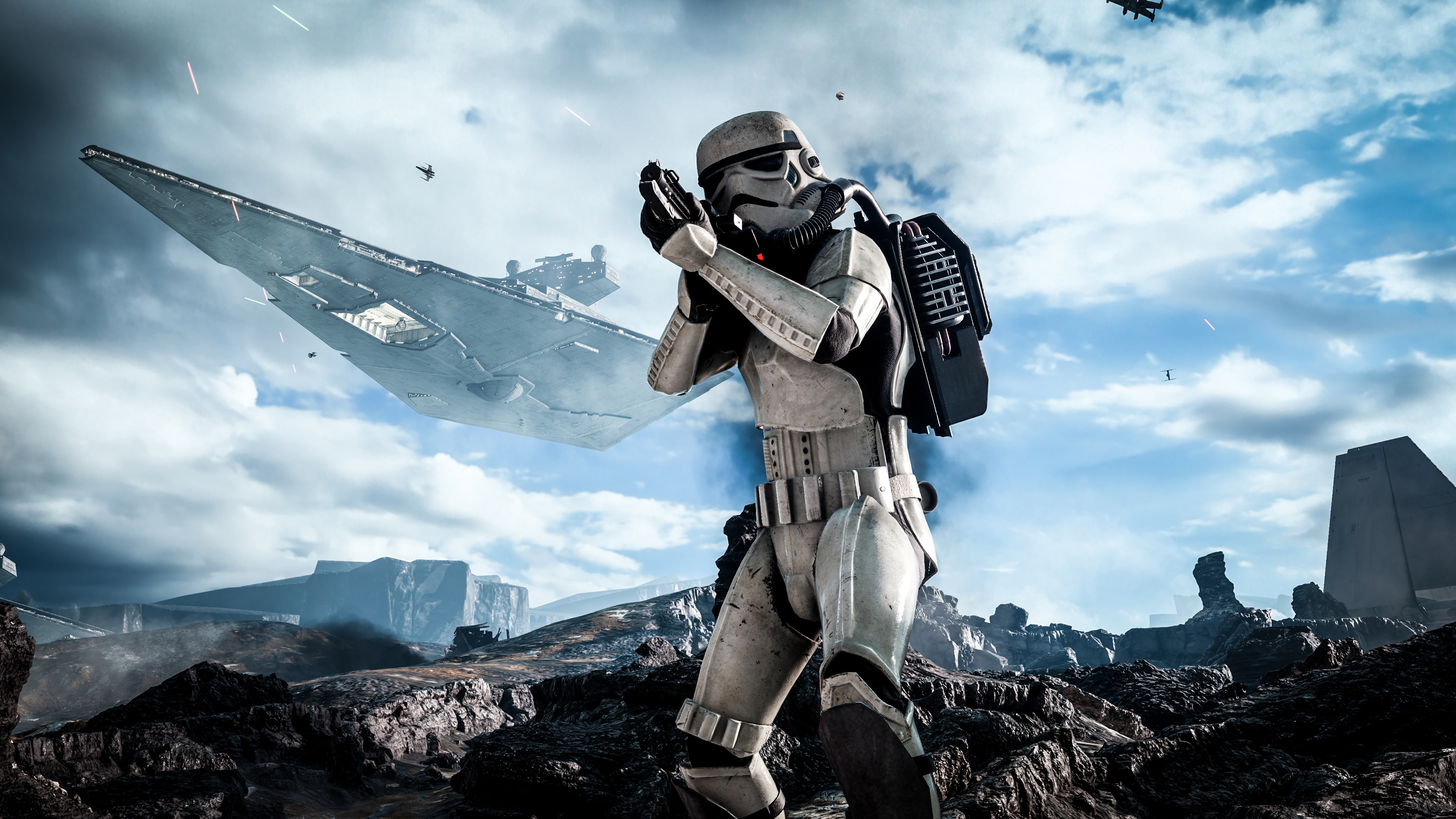 Star Wars Battlefront Stormtrooper Wallpapers HD Wallpapers 3840x2160