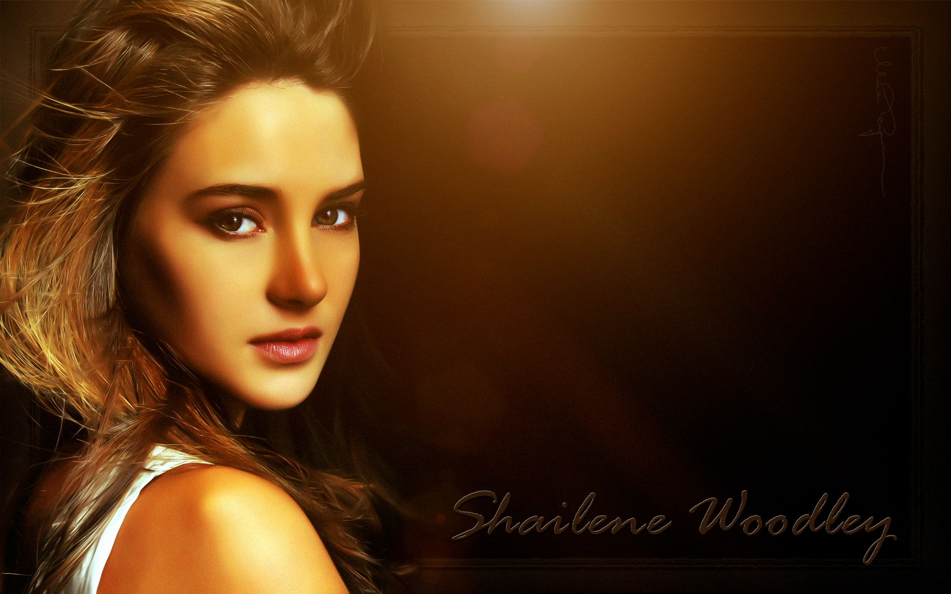 Shailene Woodley Divergent Set HD Wallpaper Background Images 1920x1200