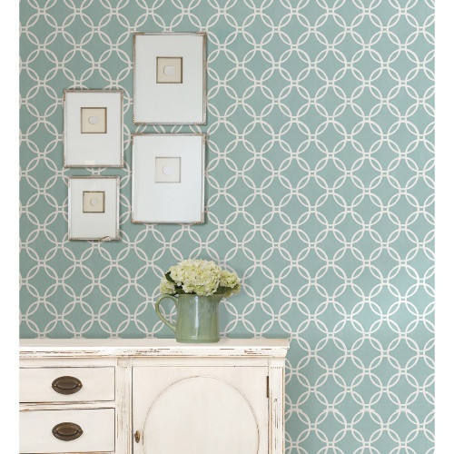 Brewster Blue Links Peel and Stick Wallpaper   Wallpaper at Hayneedle 500x500