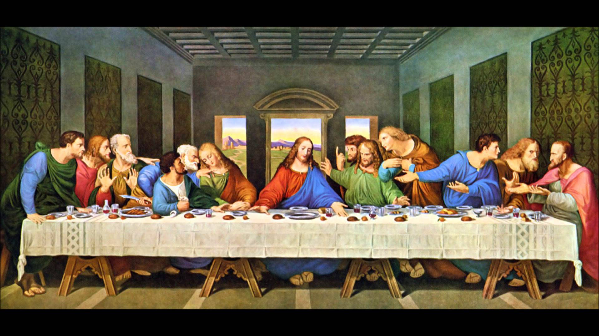 Last Supper Wallpapers 1920x1080