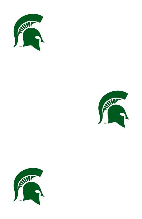 Michigan State Spartans Logo Wallpaper Double Roll 475x734
