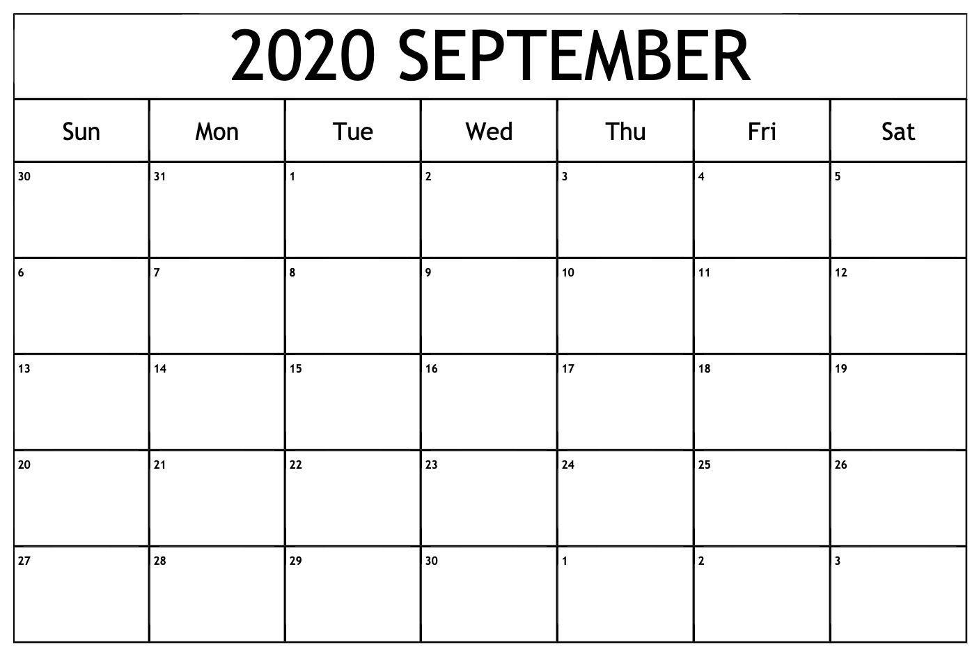 September 2020 Calendar Wallpapers   Top September 2020 1406x929