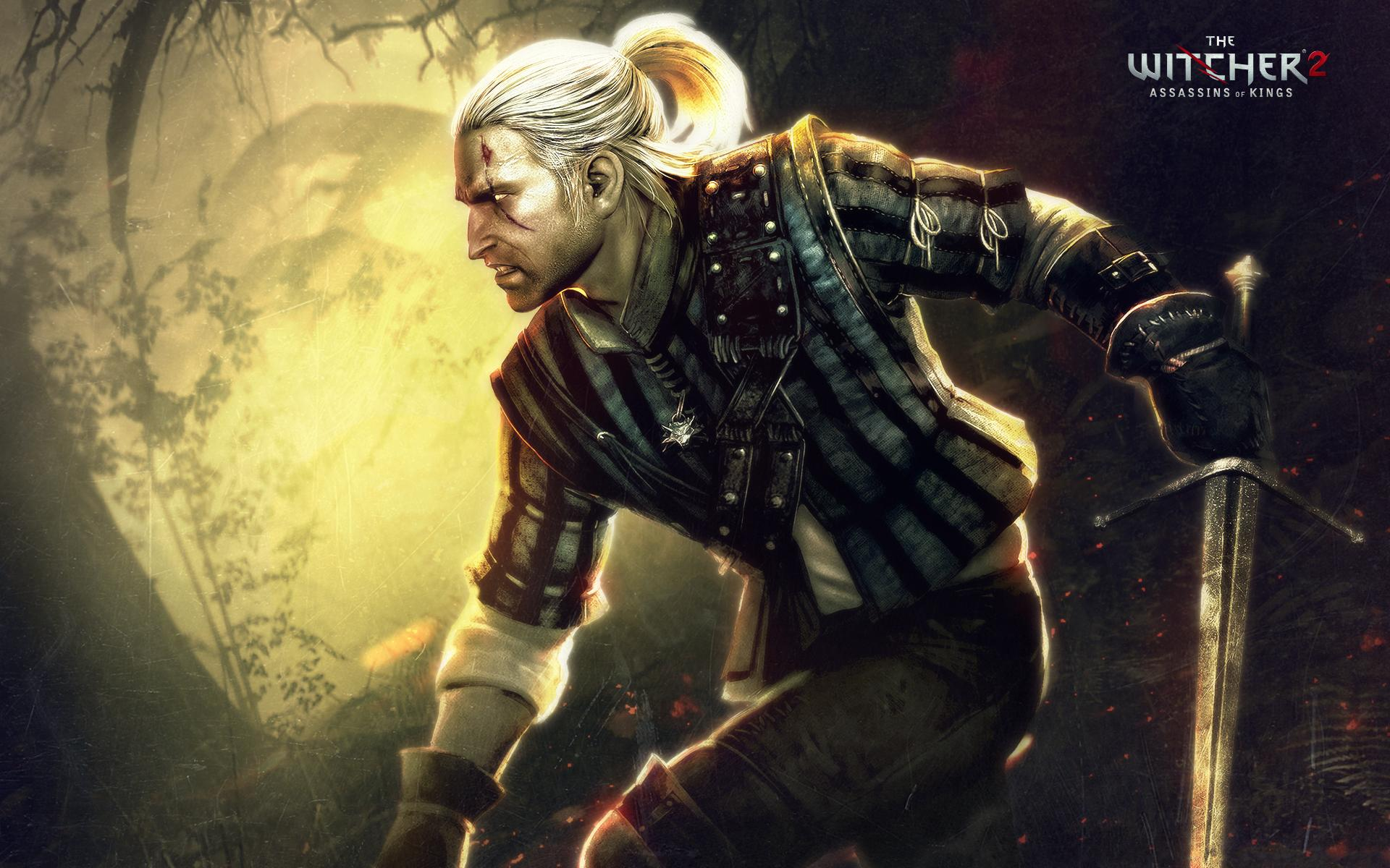Photos The Witcher The Witcher 2 Assassins of Kings vdeo game 1920x1200