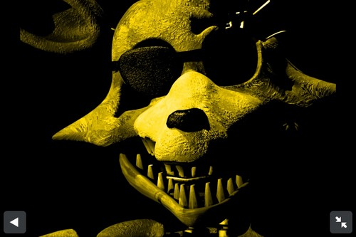 Five Nights at Freddys images Golden Foxy HD wallpaper 500x333
