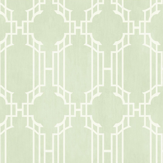 Lattice Sidewall Wallpaper Sea Foam Green Double Roll   Traditional 640x640
