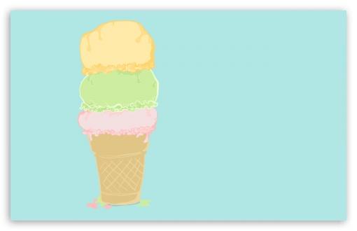 Ice Cream Cartoon HD desktop wallpaper High Definition Fullscreen 510x330