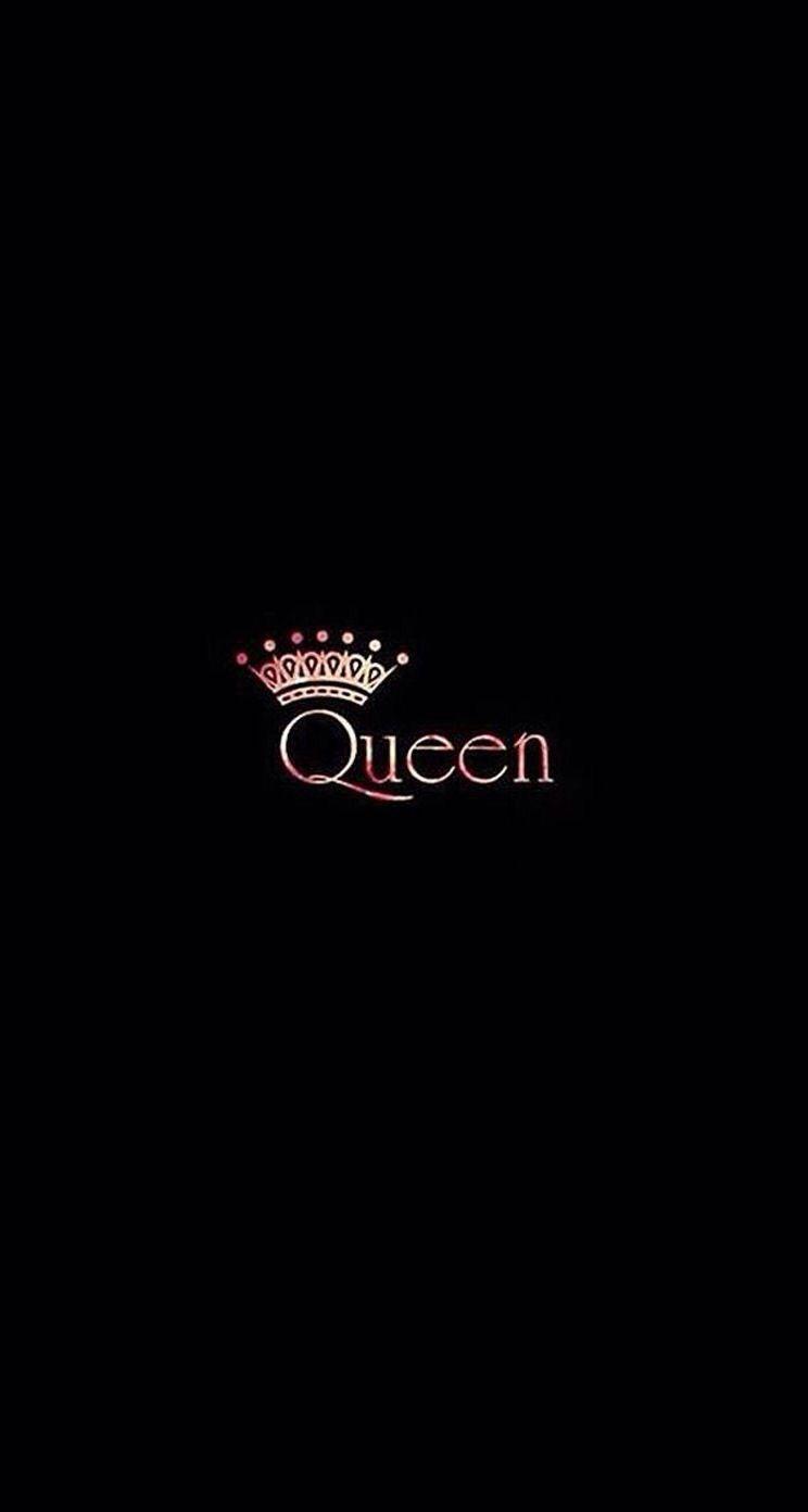 Queen Black Wallpapers iPhone Android Queens wallpaper 744x1392