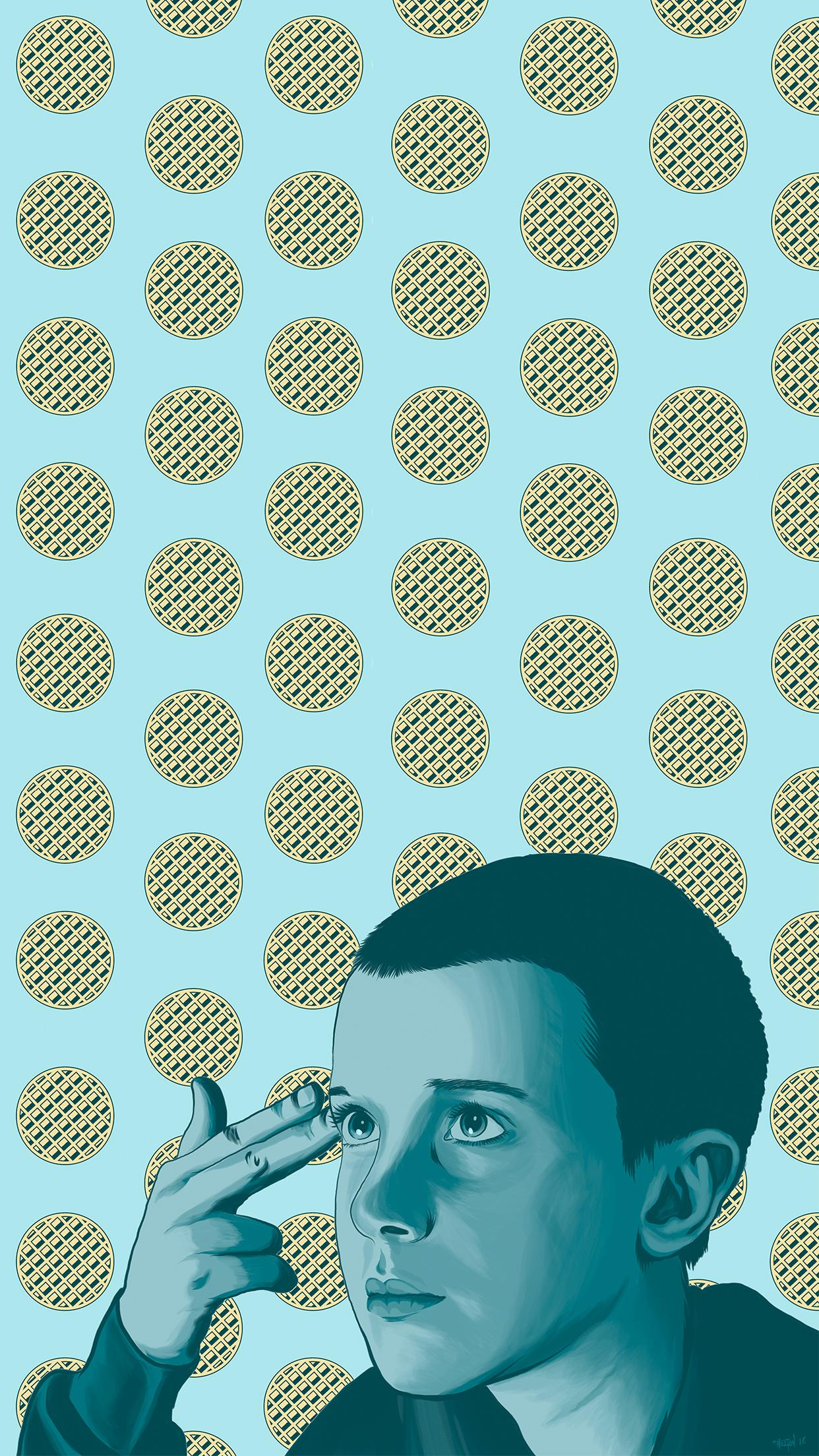 89 Stranger Things Eleven Wallpapers On Wallpapersafari