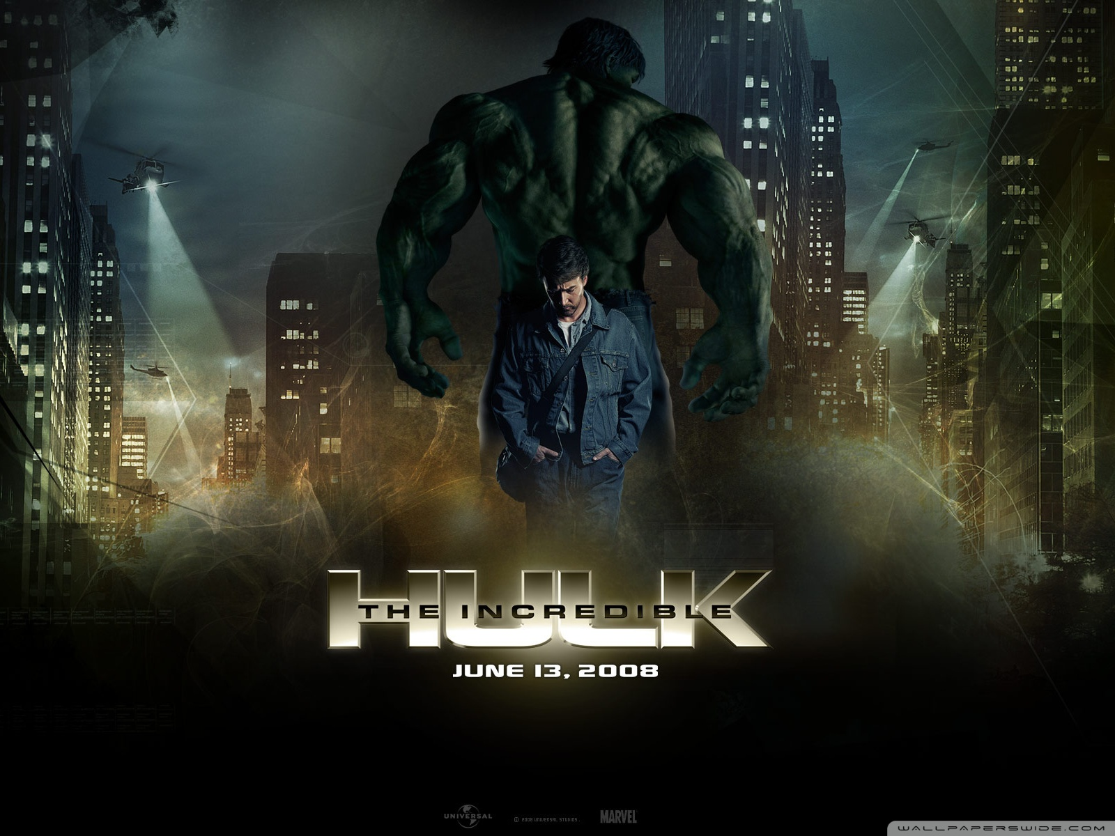 The Incredible Hulk 2 4K HD Desktop Wallpaper for 4K Ultra HD 1600x1200