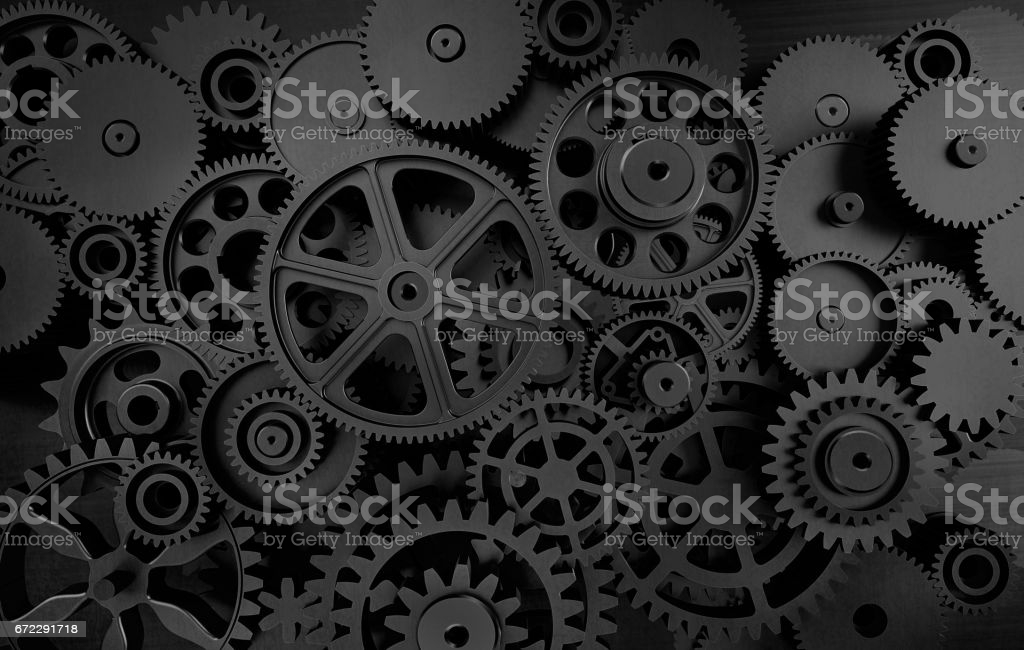 Dark Gears Background Stock Photo   Download Image Now   iStock 1024x650