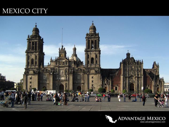 Mexico City Zocalo   Wallpaper Desktop Image 720x540