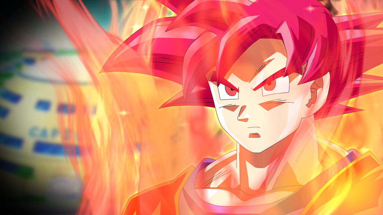 49 Super Saiyan God Hd Wallpaper On Wallpapersafari