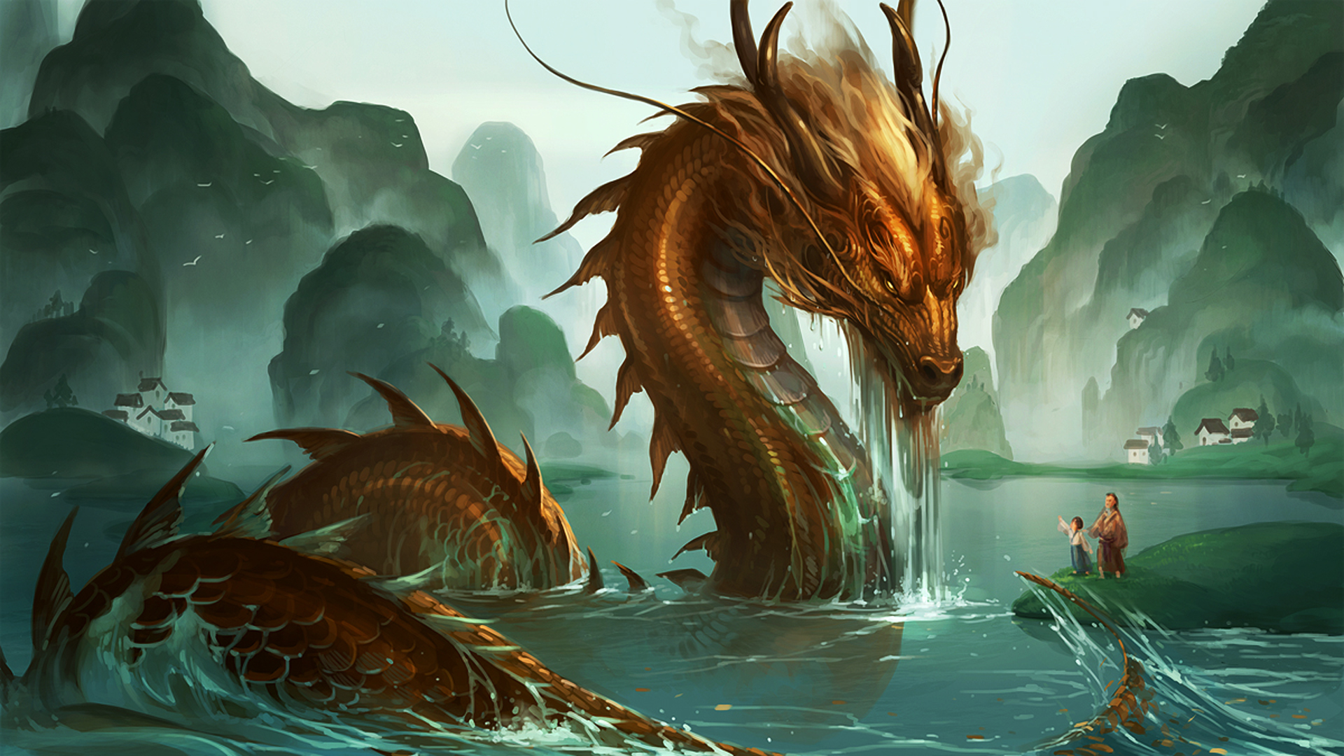 20 2015 By Stephen Comments Off on Chinese Dragon Wallpapers 3D 1920x1080