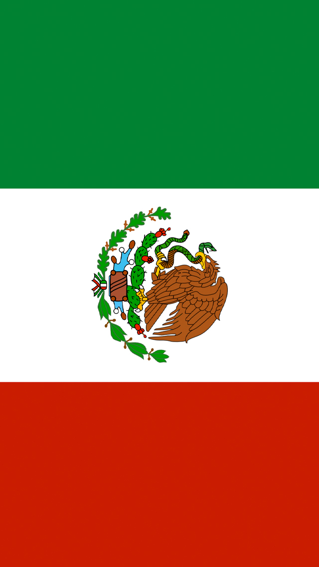 Related Pictures mexican flag wallpaper mexican flag paint hd 640x1136