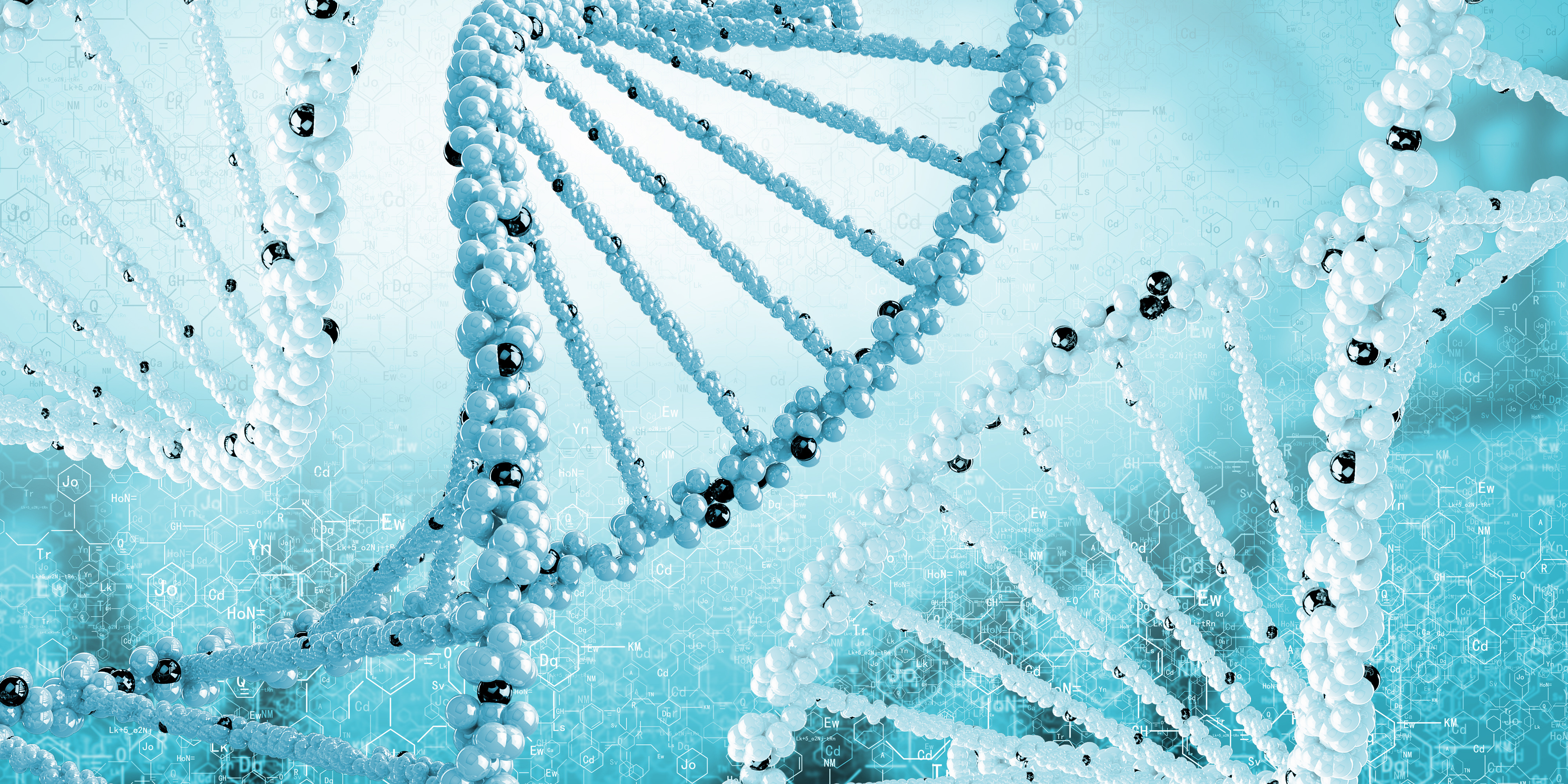 DNA Helix Wallpapers HD 4000x2000