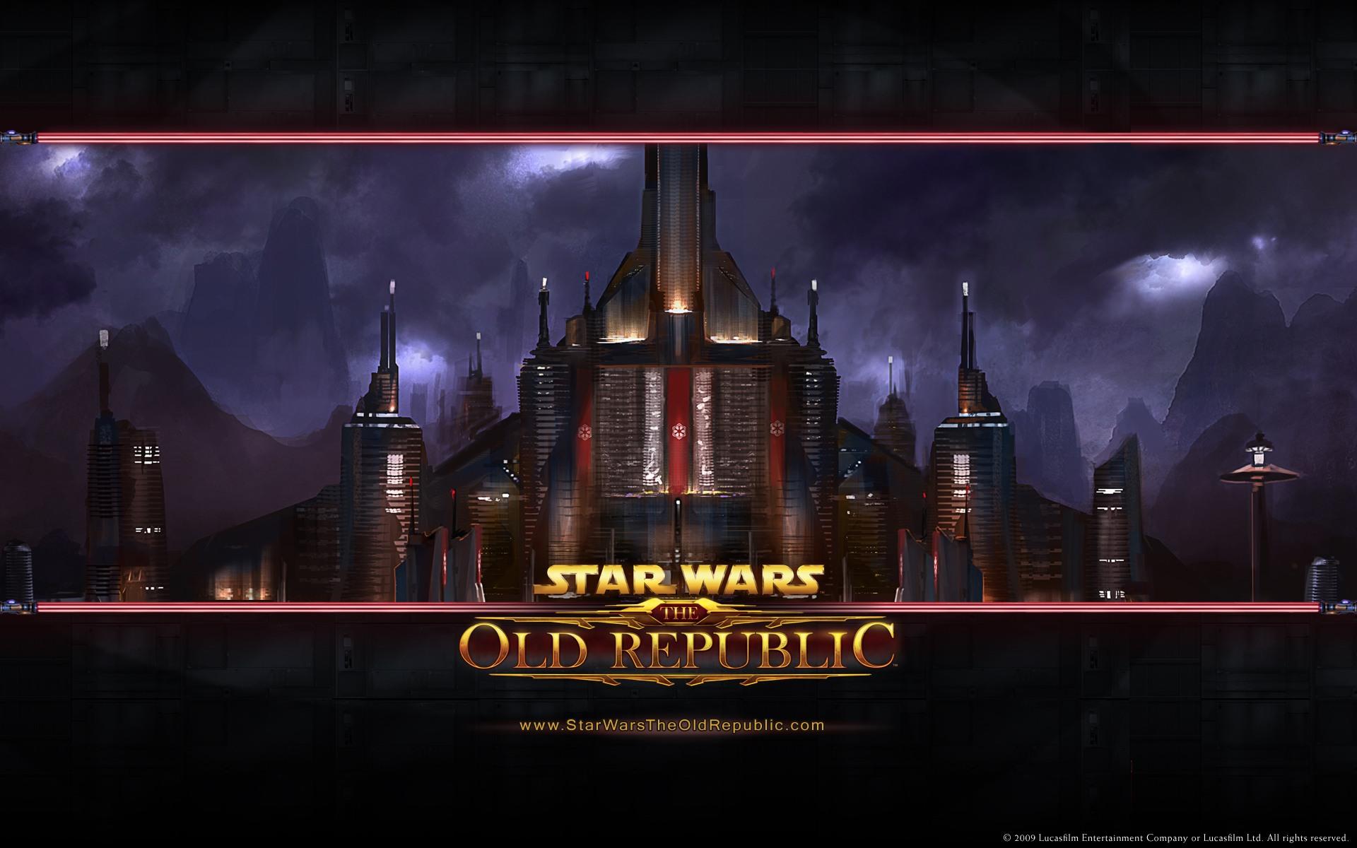 Star Wars The Old Republic desktop wallpaper 1920x1200