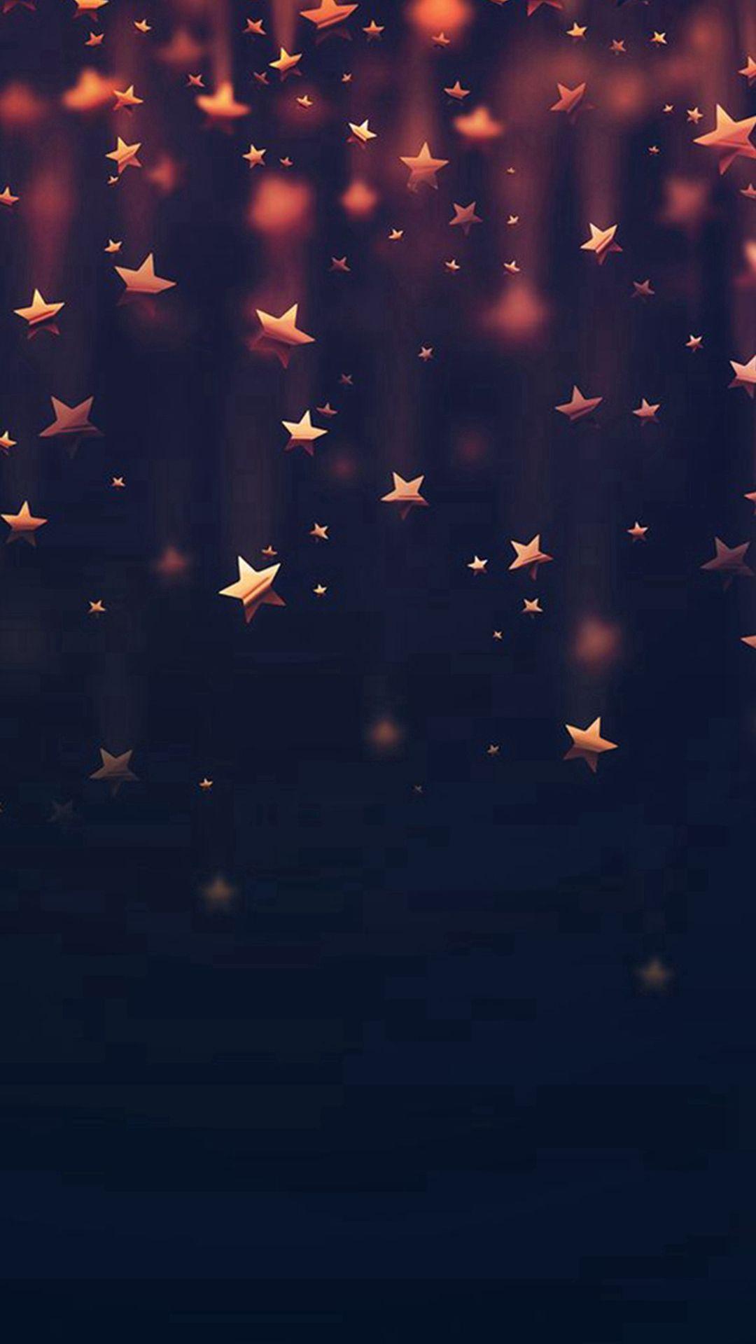 Golden Falling Stars iPhone 6 wallpaper iPhone 68 Wallpapers 1080x1920