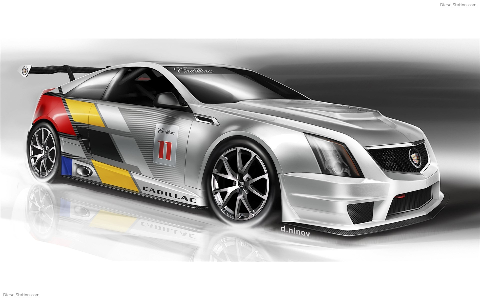Home Cadillac Cadillac CTS V Coupe Race Car 1920x1200