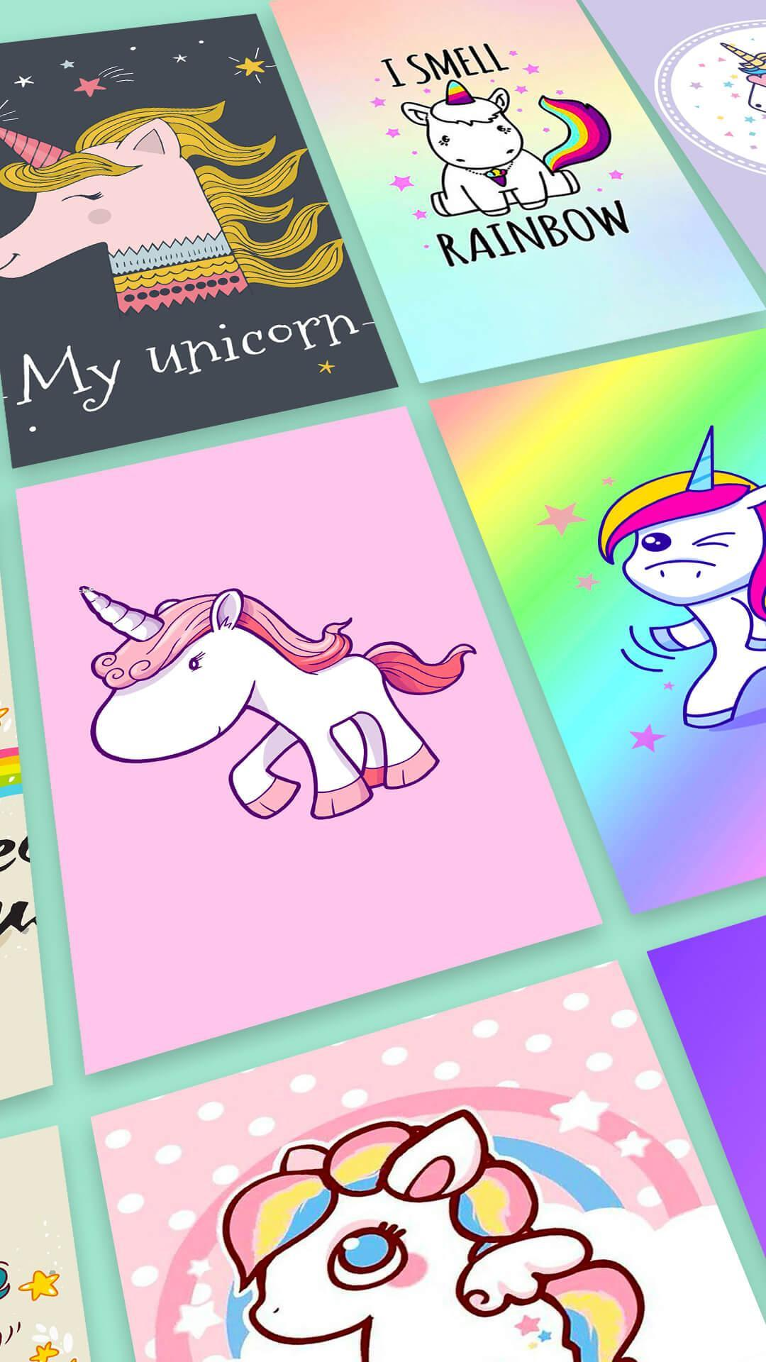 Kawaii Unicorn Wallpaper bronies for Android   APK Download 1080x1920