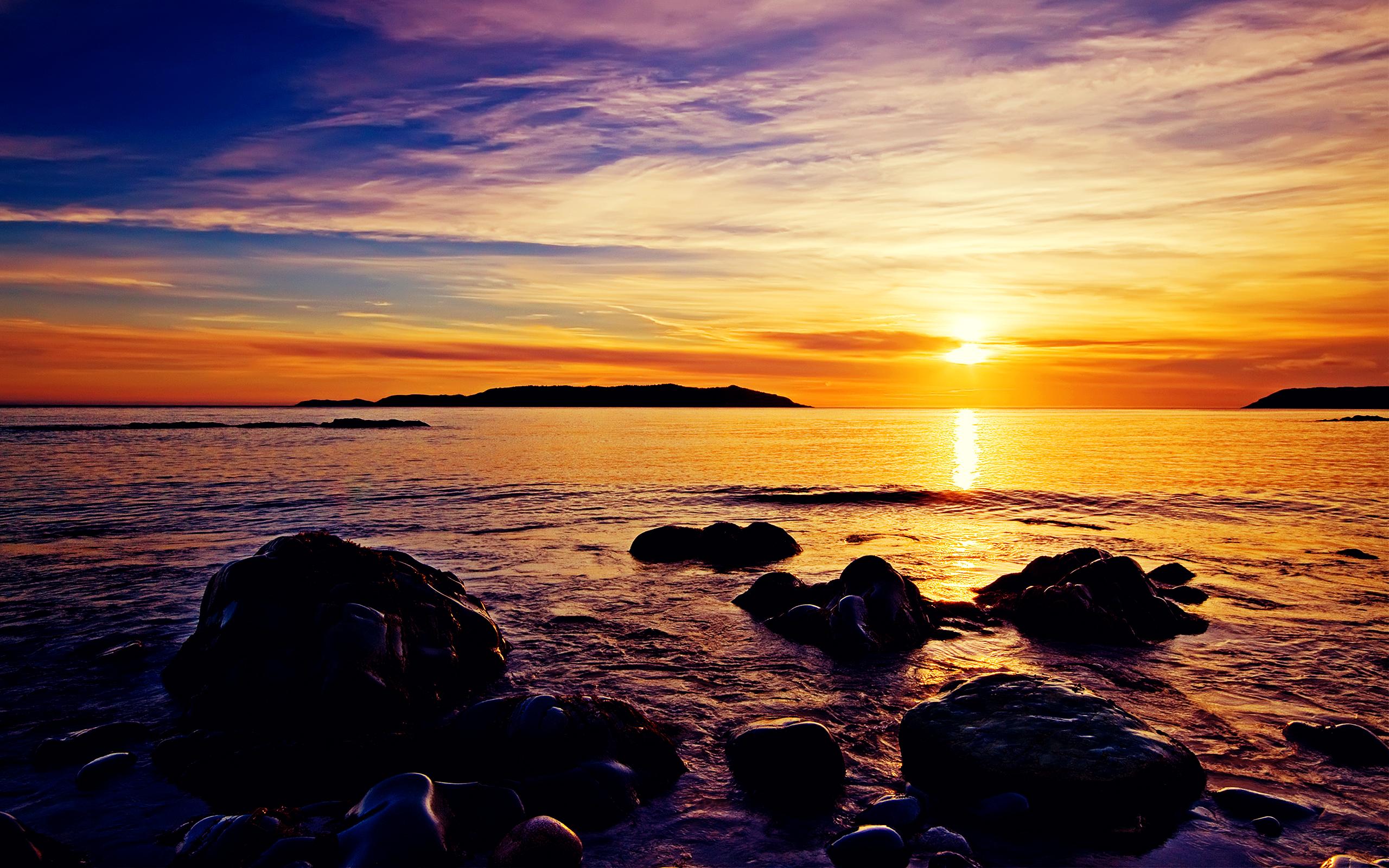 Sunrise Beach Wallpapers HD Wallpapers 2560x1600