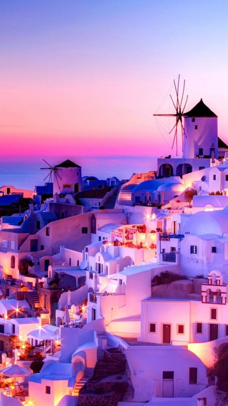 70 Santorini Wallpapers   Download at WallpaperBro 750x1334