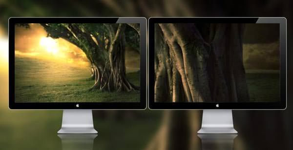 Dual Screen Wallpapers [Wallpaper Wednesday]   Hongkiat 600x308