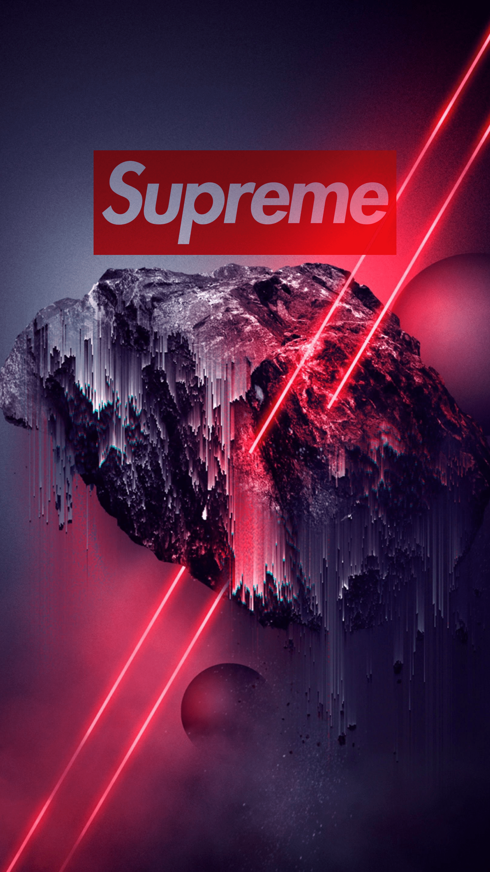 45+] Supreme iPhone Wallpaper Live on