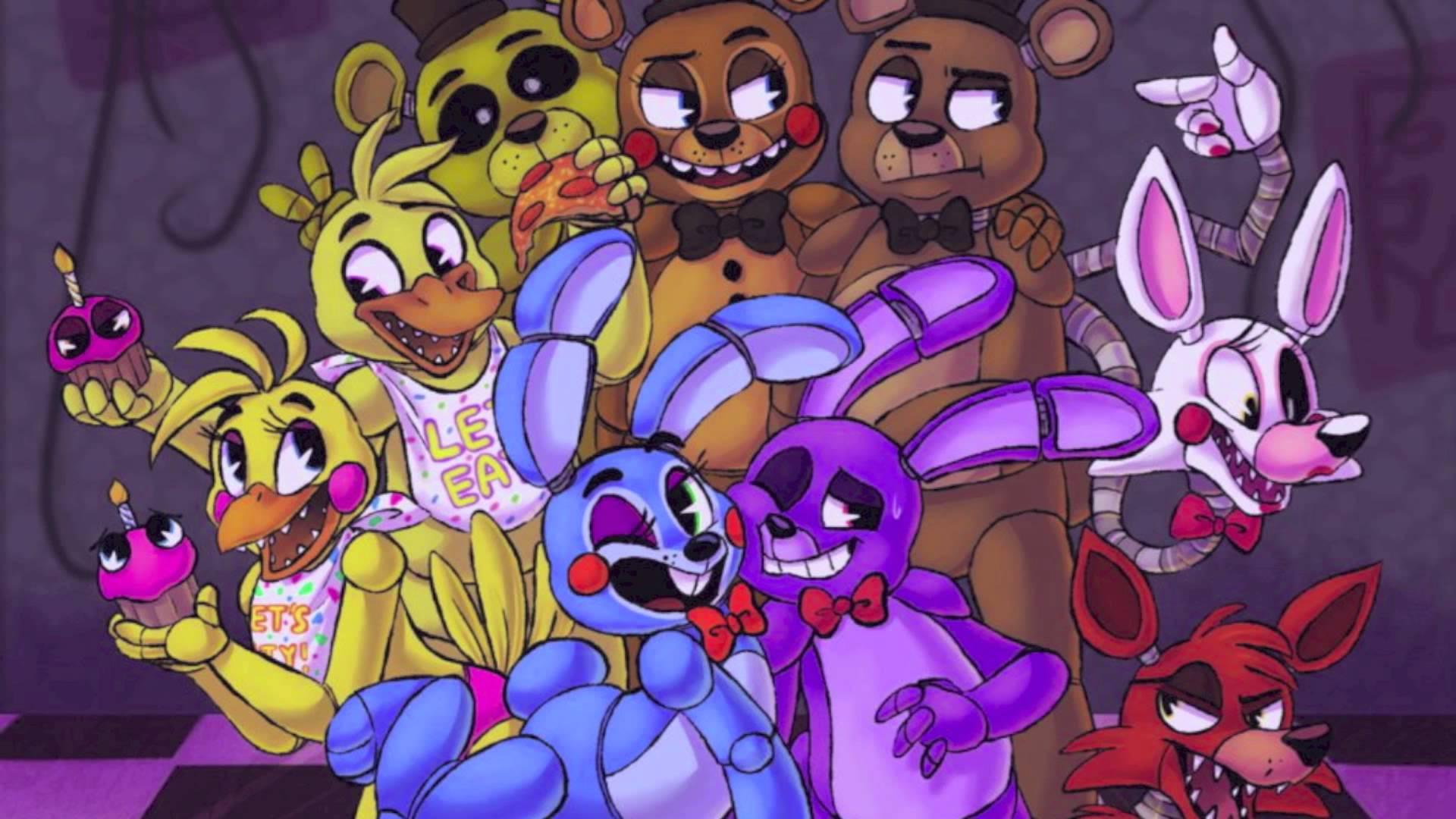 Five Nights At Freddys 2Sayonara MaxwellFNAF 1920x1080