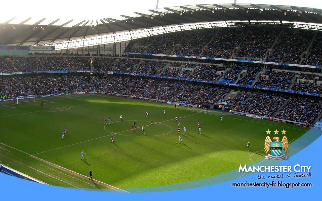 City Of Manchester Stadium Wallpapers HD Walls Find Wallpapers 1280x800