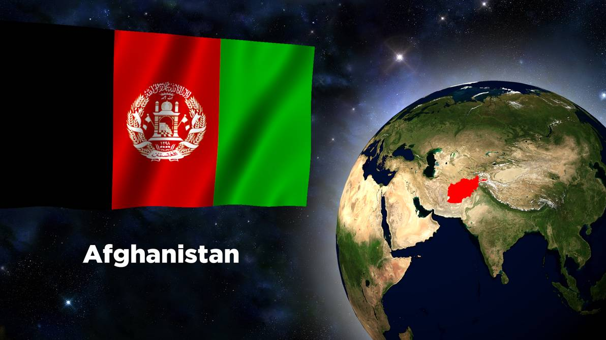Flag Wallpaper   Afghanistan by darellnonis 1192x670