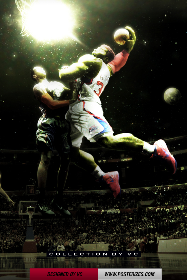 FunMozar Blake Griffin Dunk IPhone Wallpaper