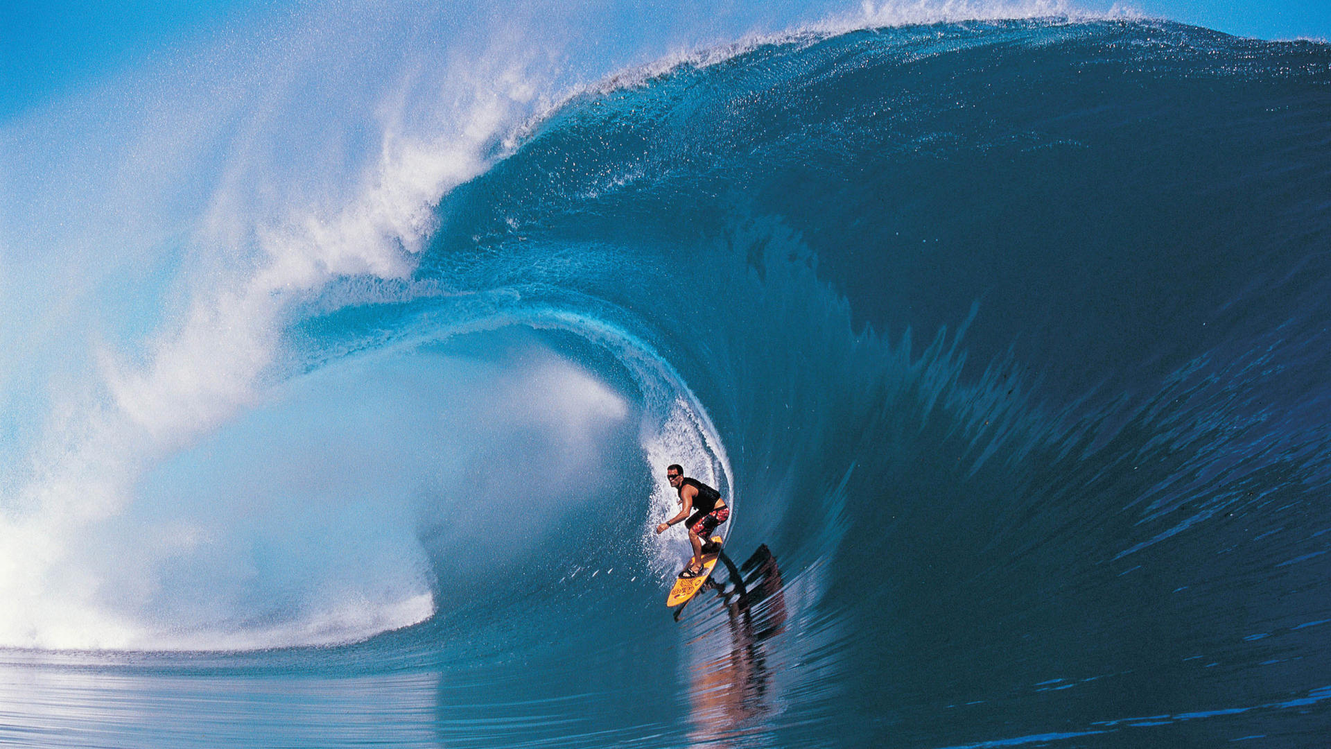 tahiti wave surf wallpaper HD Desktop Wallpapers 1920x1080