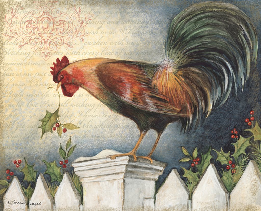 Lang   December 2015 Wallpaper Proud Rooster Lang Calendars Ma S 1024x828