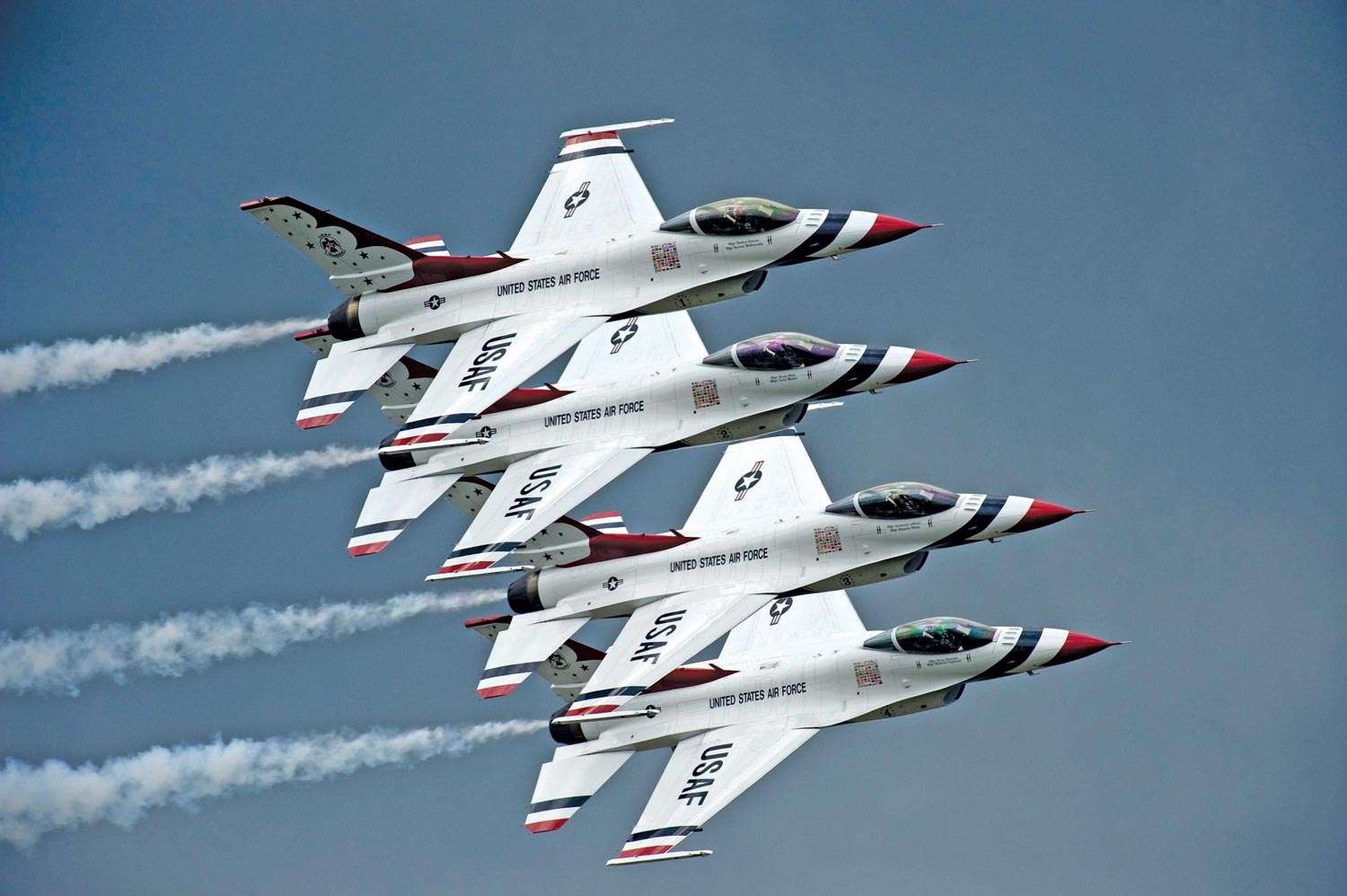 the second time the united states air force flight demonstration team 1500x998