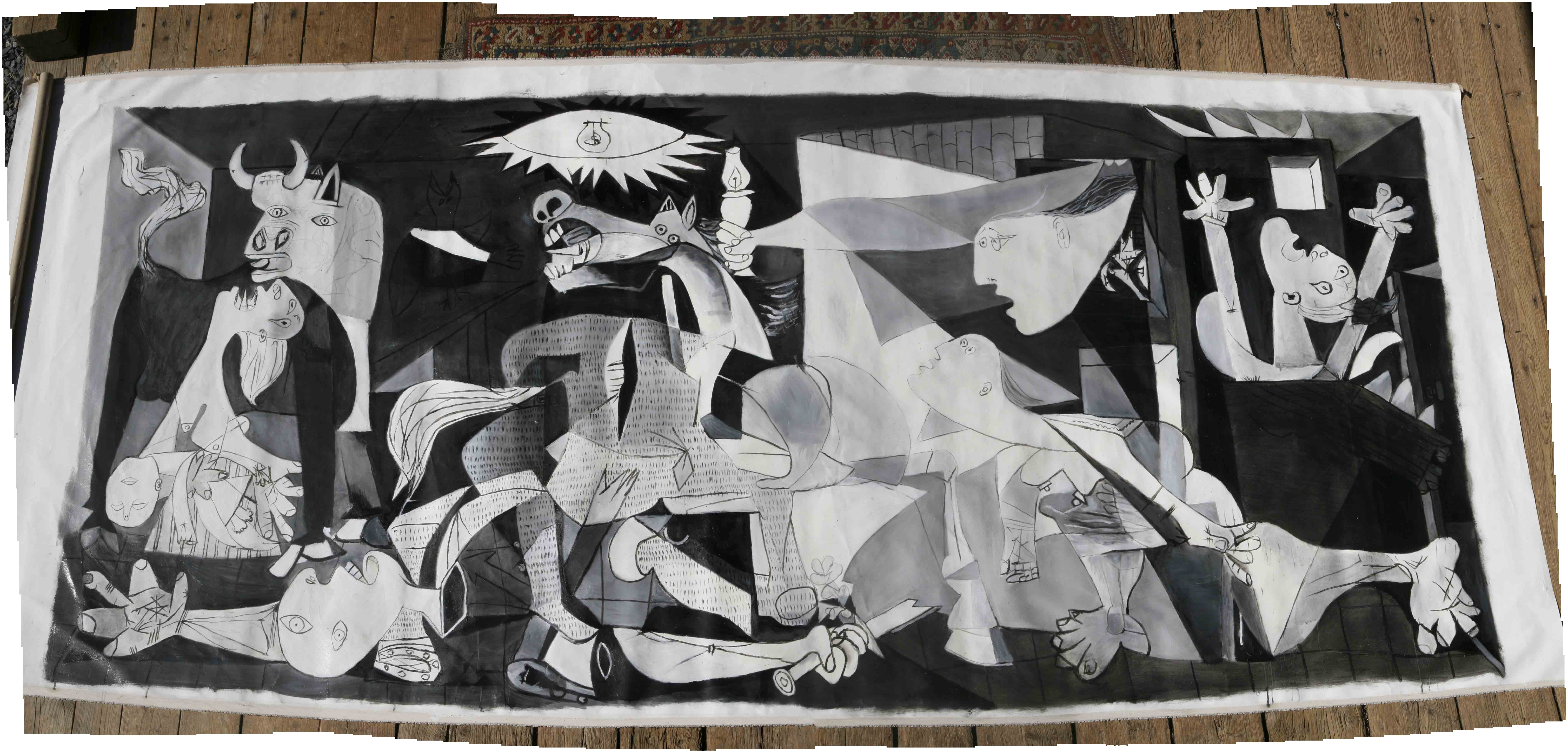 Images For Guernica Wallpaper 7216x3456