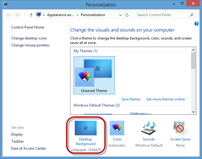 Three Ways to Change the Desktop Wallpaper on Windows DooFix 665x524
