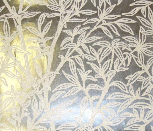 Metallic flocked wallpaper wallpapersafari - Cream flock wallpaper ...