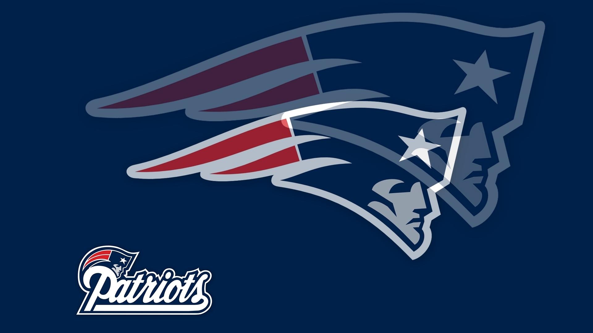 Patriots Logo Echo Style 1920x1080 HD NFL New England Patriots 1920x1080