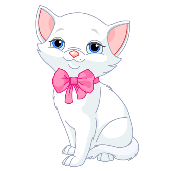 Cute Cartoon Cat Wallpaper - WallpaperSafari