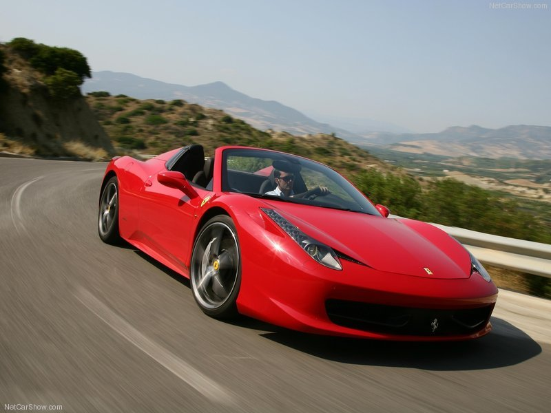 Ferrari 458 Spider Wallpaper 2012 Ferrari 458 Spider For 800x600