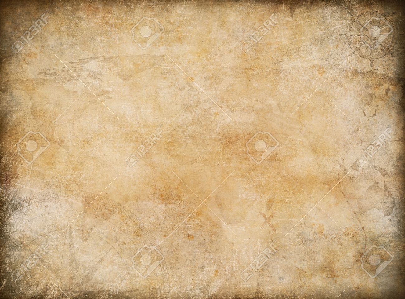 Old Map Exploration And Adventure Background Stock Photo Picture 1300x961