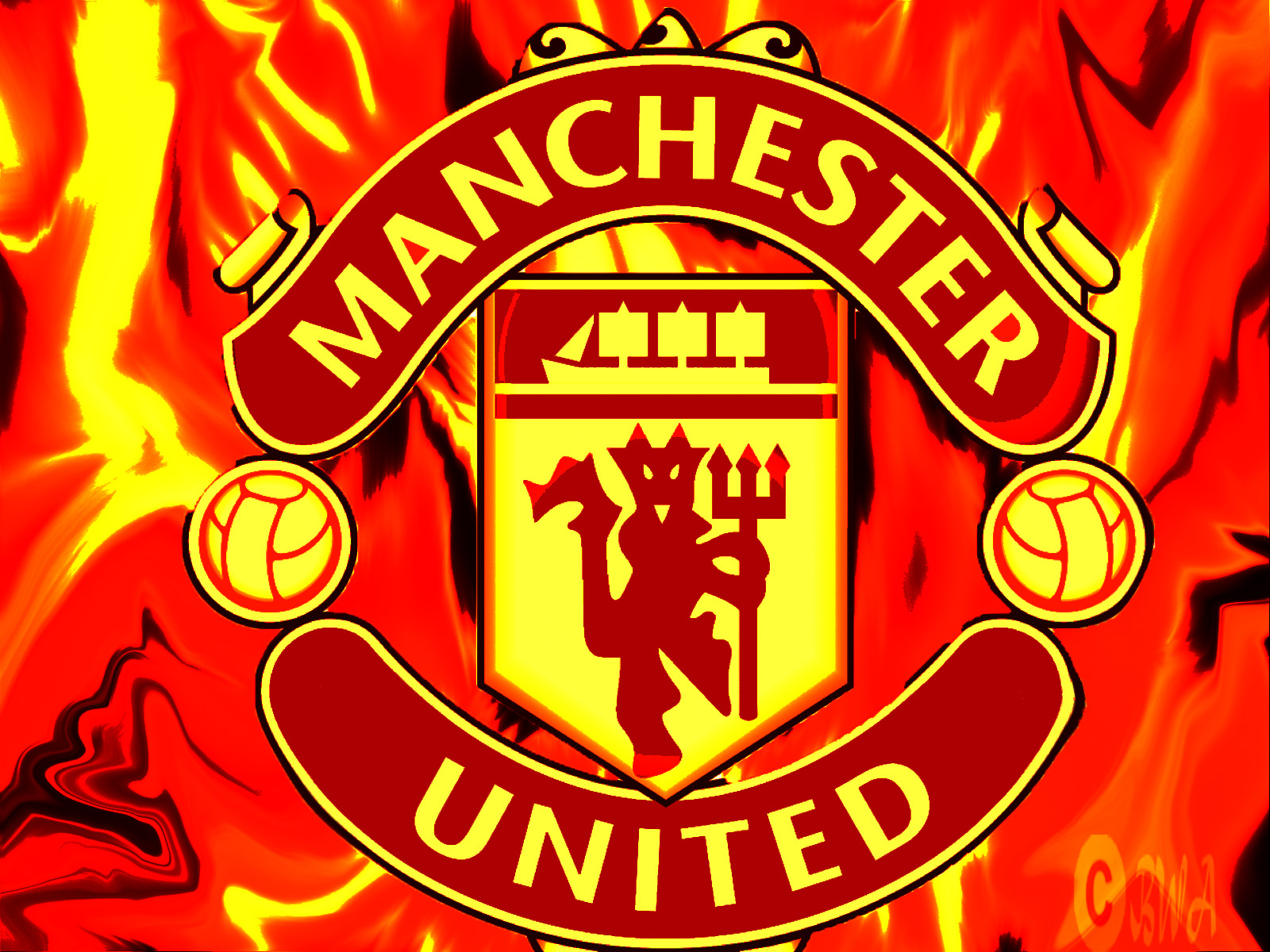 Football Manchester United Logo 2013 HD Wallpapers 1600x1200