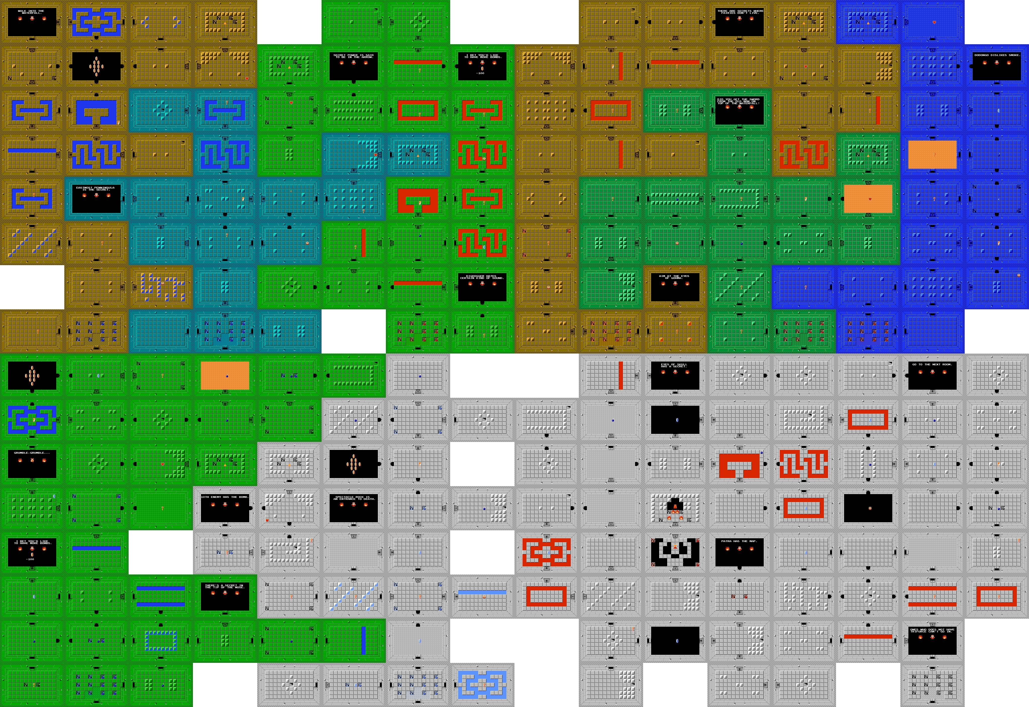 Zelda Map 4096x2816