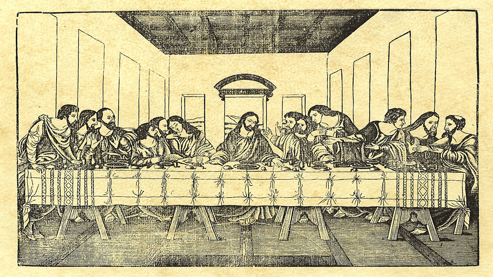 The Last Supper Bjork J Wallpapers 1920x1080