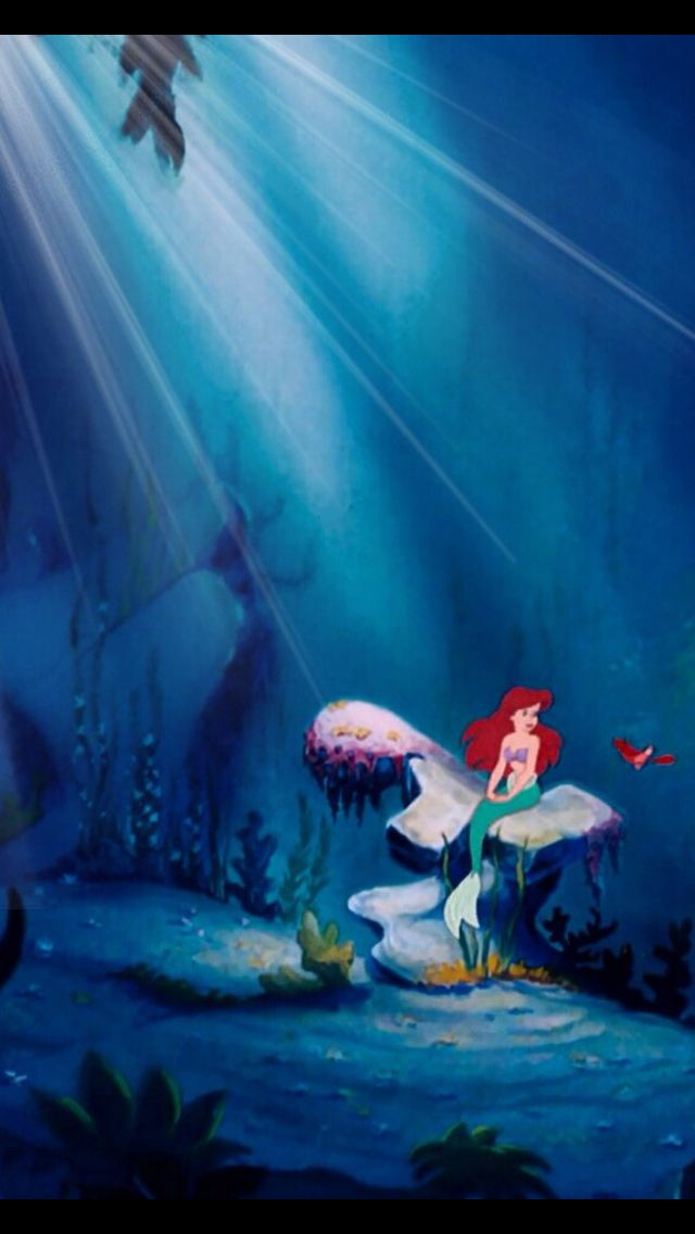 Little Mermaid Wallpaper iPhone  WallpaperSafari