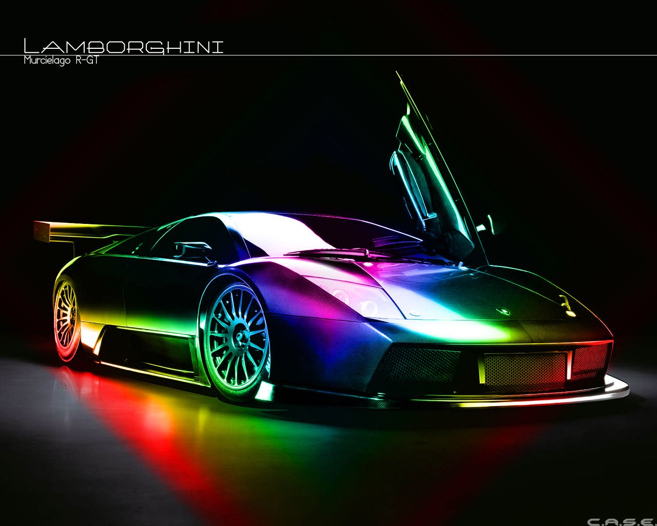 Rainbow Lamborghini Wallpapers Wallpapersafari