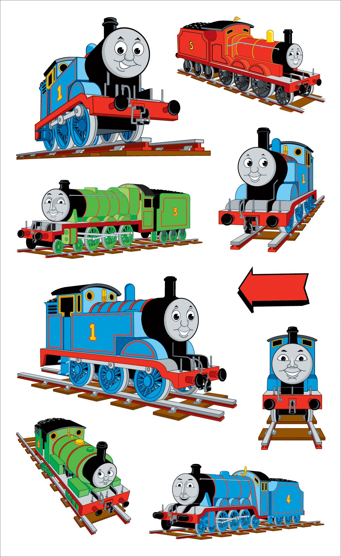 Thomas and Friends Wallpaper HD - WallpaperSafari Thomas And Friends Wallpaper Border