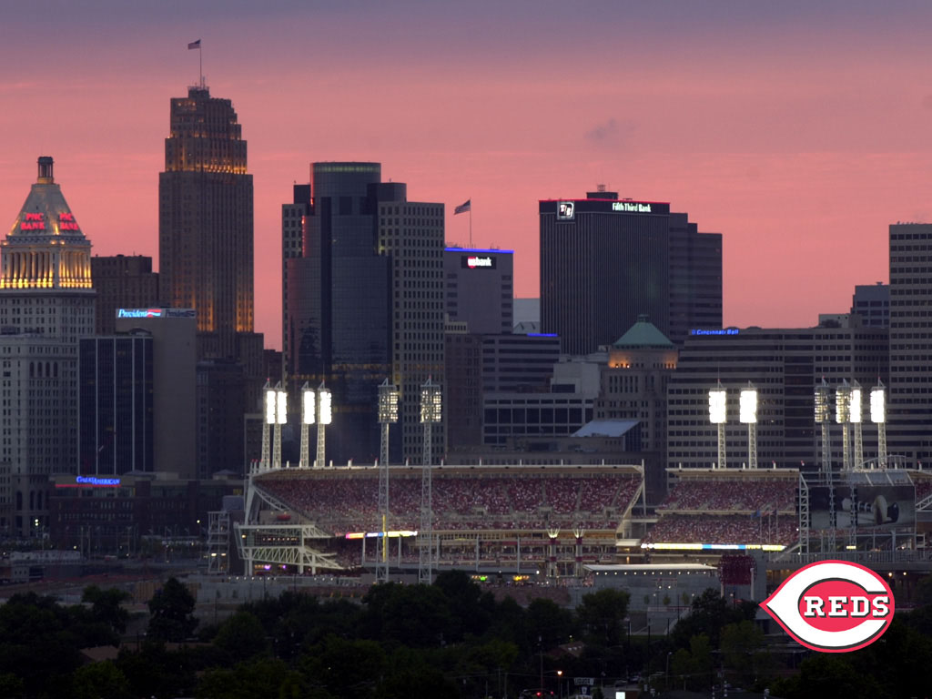 Desktop Wallpapers Cincinnati Reds 1024x768