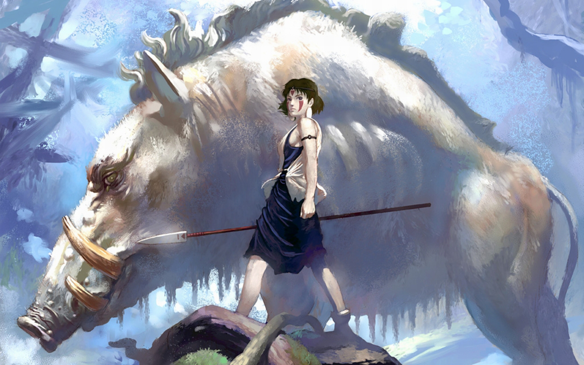 1920x1200px anime princess mononoke wallpaper - wallpapersafari